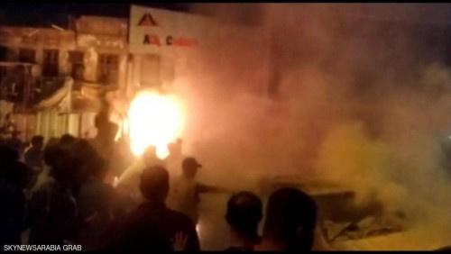 انفجار سيارة مفخخة وسط بغداد.. ومقتل متظاهرين