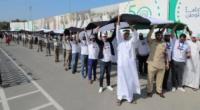 الإمارات تدخل موسوعة جينيس بأطول علم في العالم
