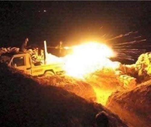 عــاجل.. مواجهات عنيفة بين القوات الجنوبية ومليشيا #الحوثي شمال #الضالع