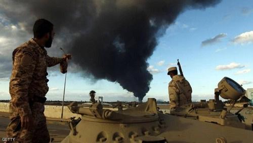 الجيش الوطني الليبي يعلن وقف إطلاق النار بدءا من الليلة