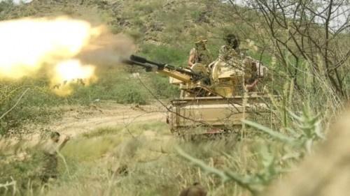 اندلاع معارك عنيفة بين القوات الجنوبية ومليشيا #الحوثي بجبهات مريس
