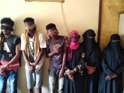 القبض على عصابة متخصصة بسرقة المنازل ب#العاصمة_عدن
