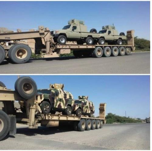 ما حقيقة الأليات العسكرية التي وصلت الى #العاصمة_عدن ؟