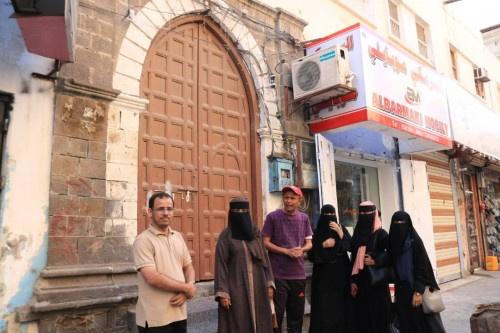 مبادرة هويتي تواصل حملة الزيارات للمساجد التاريخية في كريتر