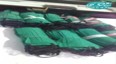 """مبادرة """"صنع في عدن"""" تدعم مشافي عدن بكمامات مصنعة محلياً بعد انعدامها"""