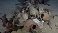 تعود لـ14 ثقافة وحضارة من بينها اليمن.. العثور على مئات القطع الأثرية في حطام سفن بالمتوسط (صور)