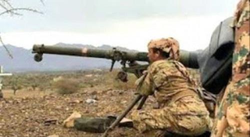 كسر أقوى وأعنف هجوم حوثي في جبهات غرب الضالع