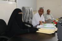 دورة تدريبية للصحيين المشاركين في حملة التطعيم ضد الدفتيريا بالشيخ عثمان