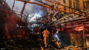 """انفجارات إيران مستمرة.. """"حادثة جديدة"""" غربي طهران"""