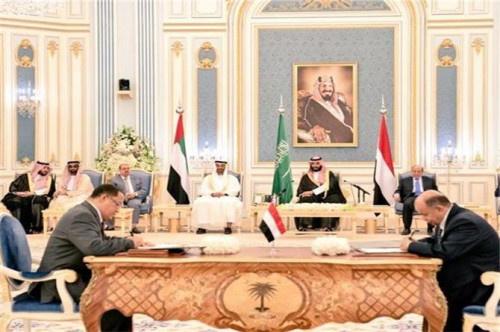 ترحيب عربي ودولي بآلية تسريع اتفاق الرياض بين الشرعية والانتقالي الجنوبي