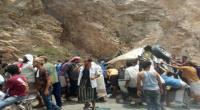 حادث مروري يودي بحياة امرأة وإصابة ثمانية من أسرة واحدة في ردفان