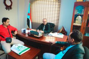 """الجعدي يطّلع على نشاط مؤسسة """"الازدهار"""" في مجال التنمية وتأهيل الأفراد"""