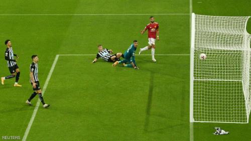 في الدقائق الأخيرة.. مانشستر يونايتد يسحق نيوكاسل