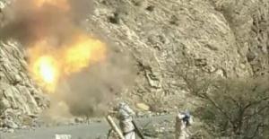 المدفعية الجنوبية تدك مواقع الحوثيين في جبهة ثره