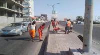 خلال حملة نظافة واسعة.. رفع آلاف الأطنان من مخلفات القمامة بالعاصمة عدن
