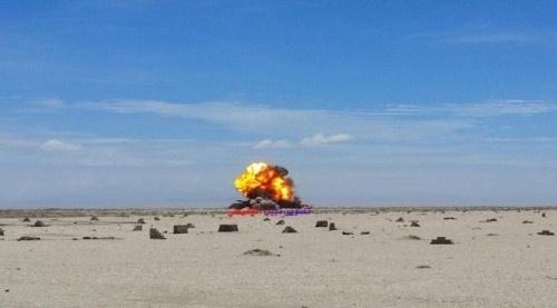 تنبيه هام بخصوص تفجير كميات من الألغام شمال شرق عدن