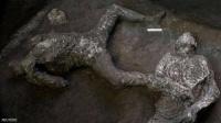 """العثور على """"العبد وسيده"""" جاثمين وسط رماد بومبيي"""