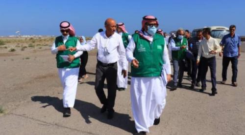 البرنامج السعودي يبحث مع إدارة مطار عدن الدولي آلية البدء في إعادة تأهيل المطار