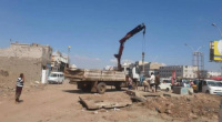 عدن.. حملة لإزالة العشوائيات من شوارع دار سعد