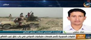 متحدث محور الضالع يكشف عن أبرز التطورات العسكرية في جبهات القتال بالمحافظة