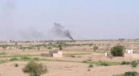 مدفعية القوات المشتركة توجه ضربات مباشرة لتمركزات الحوثيين في التحيتا جنوب الحديدة