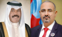الرئيس الزُبيدي يهنئ أمير دولة الكويت بمناسبة اليوم الوطني وذكرى التحرير