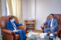 لملس يلتقي ممثل «المفوضية السامية لحقوق الإنسان» ويناقش معه جملة من قضايا الحقوق الإنسانية والمدنية