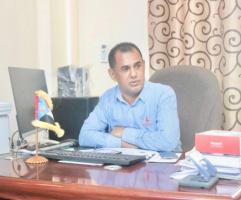 قيادي انتقالي يعلق على تعيين مدير جديد لميناء سقطرى