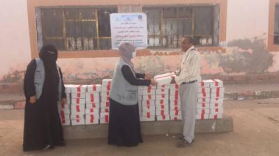 عدن.. تدشين حملة توزيع تمور رمضان للأسر الأشد فقرا في مديرية دارسعد