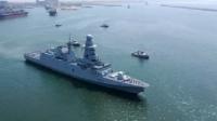 """وصول فرقاطة """"برنيس"""" إلى الإسكندرية وانضمامها للأسطول المصري"""