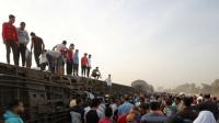 """""""الصحة المصرية"""" تكشف حصيلة ضحايا حادث قطار طوخ"""