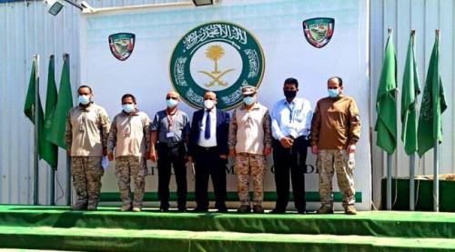الوزير حُميد يبحث مع قيادة قوات التحالف العربي أوضاع مطار عدن الدولي