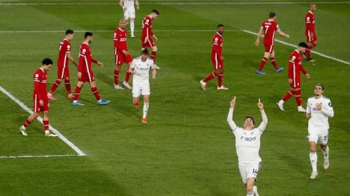 ليدز يونايتد يفرض التعادل على ليفربول في الوقت القاتل