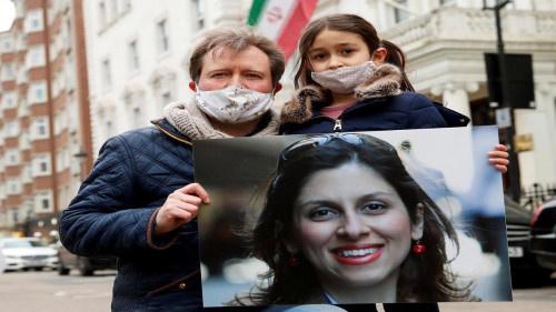 """وزير الخارجية البريطاني """"يشكك"""" بقرب إفراج إيران عن زاغاري راتكليف"""