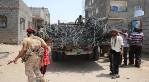 مدير عام الشيخ عثمان يدشن حملة قطع الربط العشوائي للتيار الكهربائي