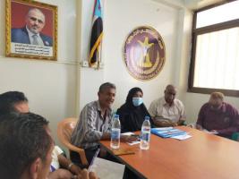رئيسة تنفيذية انتقالي المنصورة تدشن عمل اللجنة المحلية بمركز القاهرة