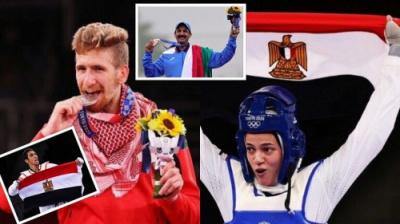 """بينها 4 عربية.. حصيلة اليوم الثالث لميداليات أولمبياد """"طوكيو 2020"""""""