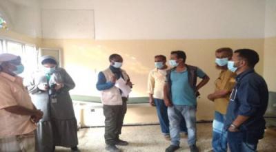 لحج.. منظمة (ادرا) تدعم مستشفى الملاح بمعدات طبية