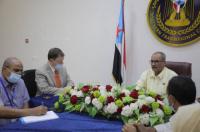 الجعدي يلتقي ممثل المفوضية السامية لحقوق الإنسان في الأمم المتحدة