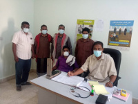 انتقالي مديرية رخية يتفقد أحوال العاملين بالمركز الصحي في المديرية
