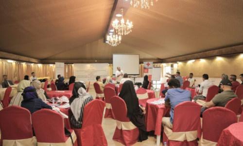 منظمة نداء جنيف تدشن ورشة تدريبية للصحفيين في القانون الدولي الانساني بالعاصمة عدن